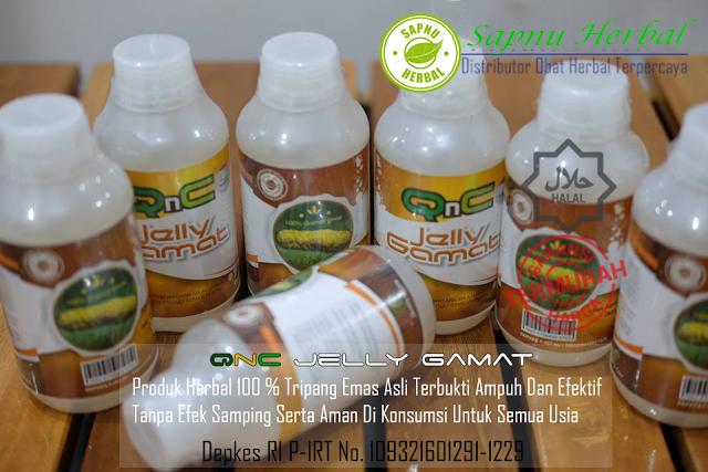 QnC Jelly Gamat Obat Herbal Trigger Finger Penyebab Jari Tangan Kaku / Tidak Bisa Digerakan