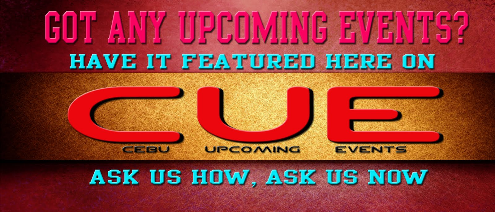 Be Featured on CUE!