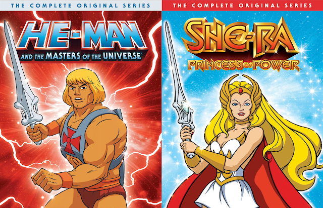 New He-Man and She-Ra Complete Series DVD Boxsets Coming From Universal Pictures