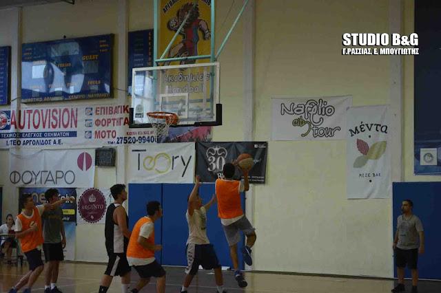 Έναρξη για το Τουρνουά καλαθοσφαίρισης 3on3 στο Ναύπλιο