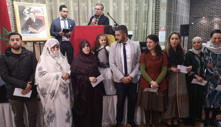 بلجيكا..السفير محمد عامر يحتفي بأسر المقاومين الصحراويين (صور)