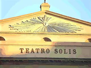 Fachada do Teatro Solis, em Montevidéu