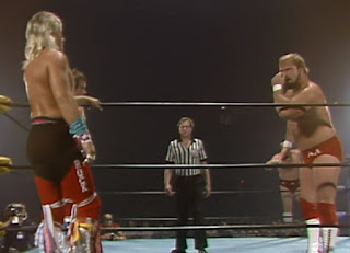 NWA Great American Bash 1986 (Greensboro, July 26th) - Arn Anderson taunts Ricky Morton