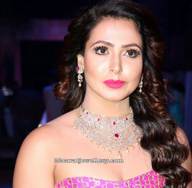 Nandini Rai Heavy Diamond Choker