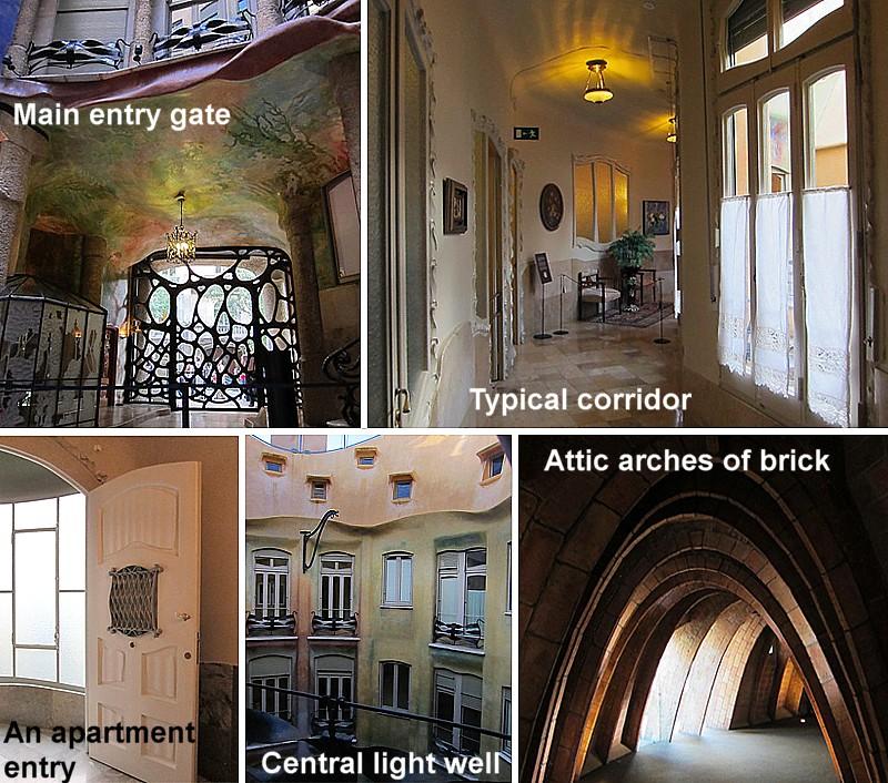 Casa Mila: Art Now And Then: La Casa Mila