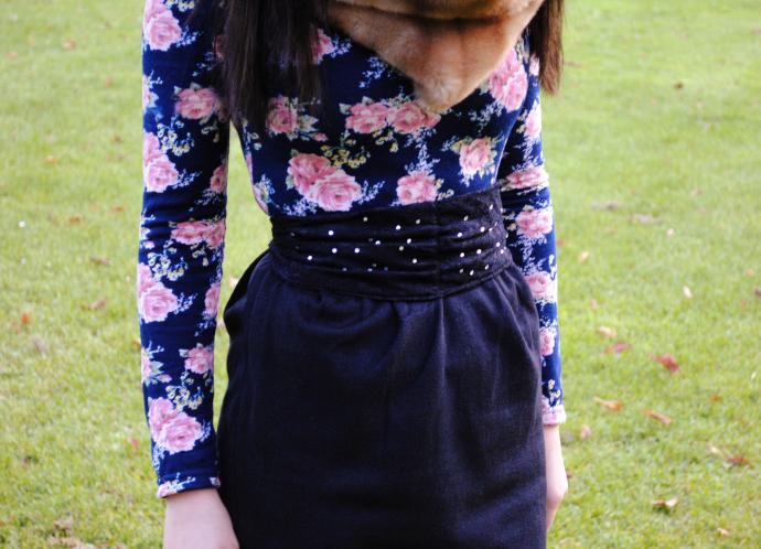 Arafeel, Floral Dress
