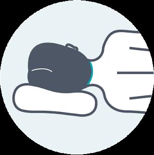 gaya tidur miring