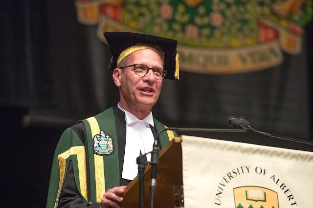 University of Alberta Chancellor Doug Stollery