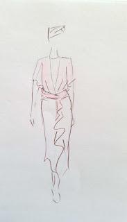 robe de mariée sur mesure par couturière modéliste à Versailles