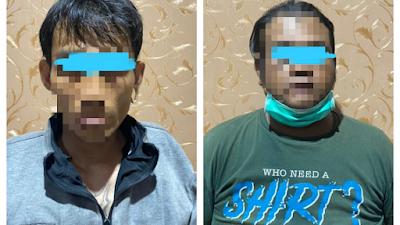 Satreskrim Polres Kediri Bekuk Dua Pencuri Motor