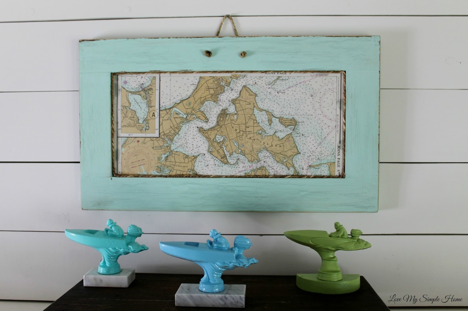 Repurpose A Cabinet Door Into A Frame Love My Simple Home