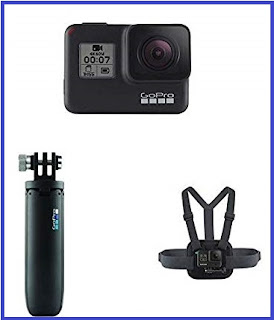 GoPro Hero 7 with Shorty and Chesty (Black)