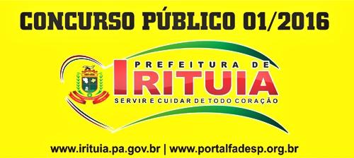 Apostila Concurso Prefeitura de Irituia 2017