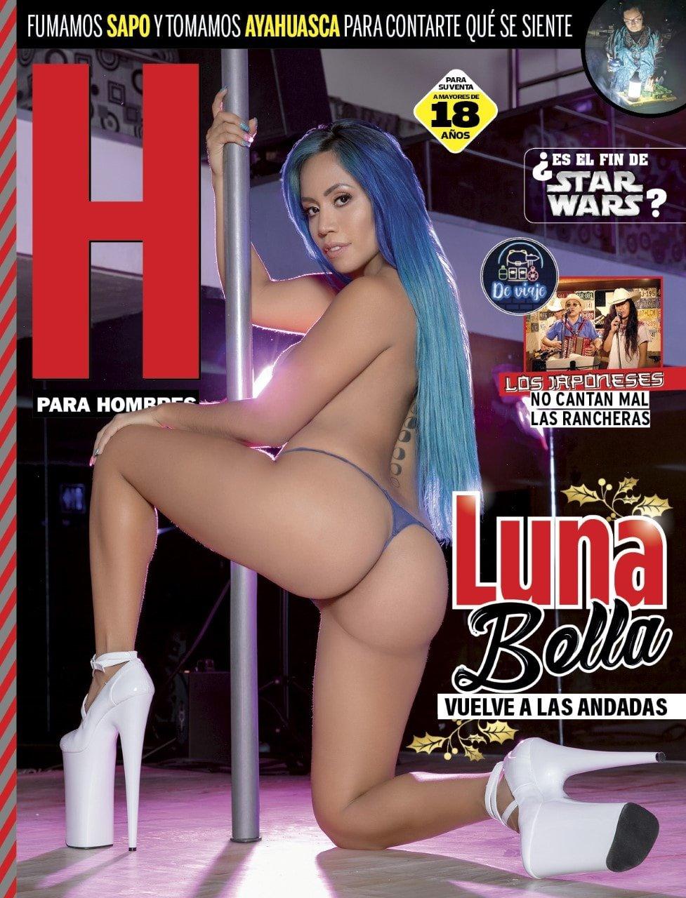 Luna Bella Revista H Diciembre 2019 [FOTOS + PDF]