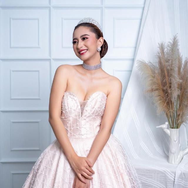 Anggia Kloer Sebagai Finalis Nyong dan Noni Sulut 2018