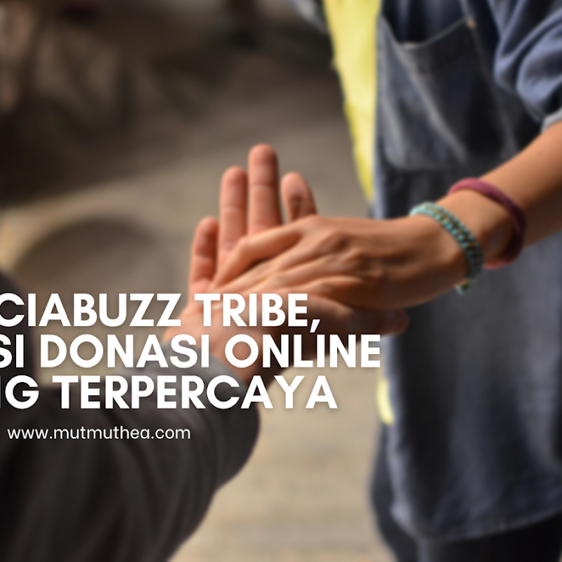 SociaBuzz TRIBE, Solusi Donasi Online yang Terpercaya