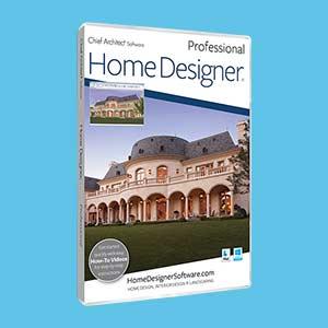 Software Design Rumah Terbaik Windows - Home Designer Professional 2020 v21.1.1.2 Full Crack