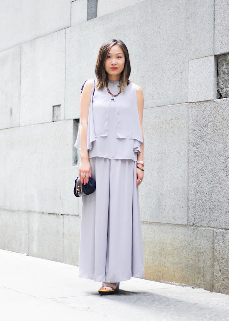 How to Look Sophisticated Dezzal Two-Piece