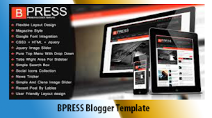 BPress Premium Blogger Template  - Responsive Blogger Template