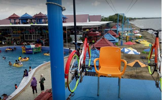 10 Foto Pantai Tope Jawa: Harga Tiket masuk Penginapan dan Fasilitas