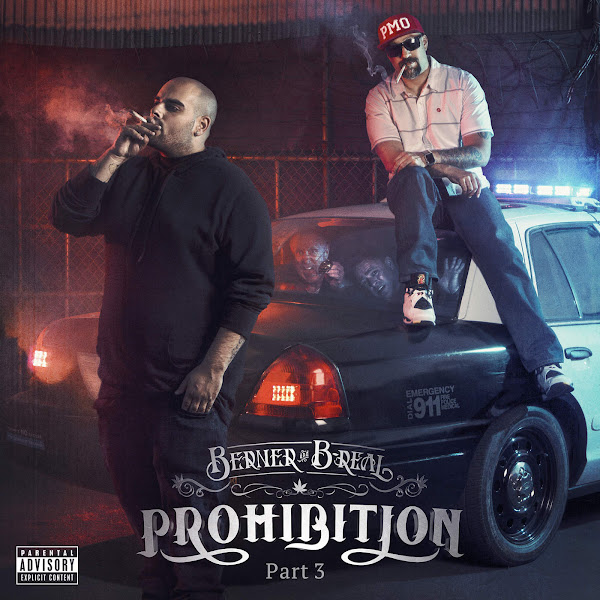 Berner & B-Real - Prohibition, Pt. 3 Cover