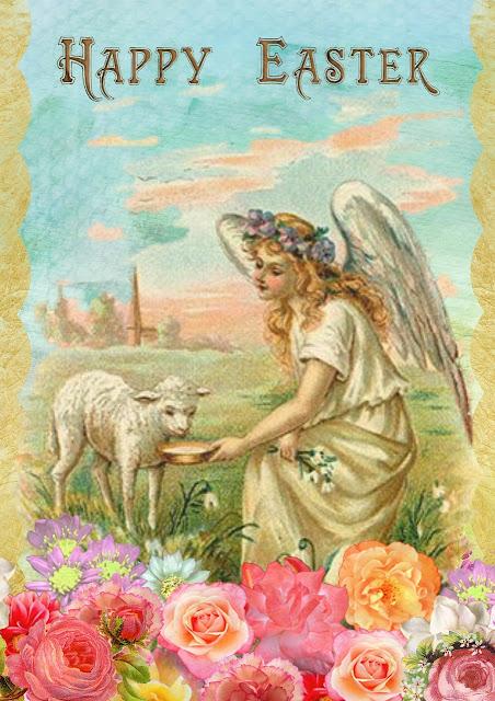 Happy Easter Sunday Fairy Card