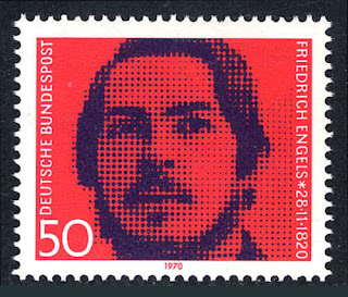 Germany  Friedrich Engels, socialist, collaborator with Marx, 1970