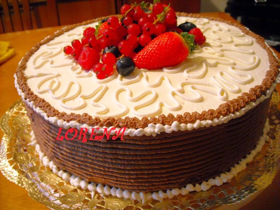 Le torte di lorena e non solo torta di for Decorazioni per torta 60 anni
