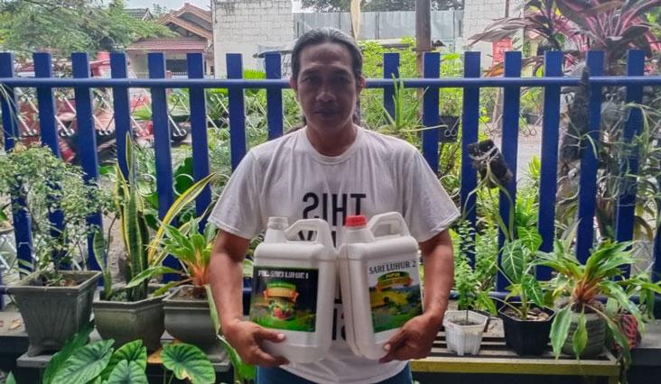 Atasi Kelangkaan Pupuk Subsidi, Arif Yunianto Bikin Pupuk Organik Berkualitas