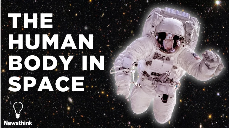 How does space exploration affect the human body?