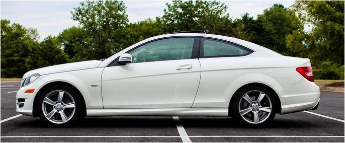 Cho thuê xe hạng sang Mercedes C250 Hà Nội 1