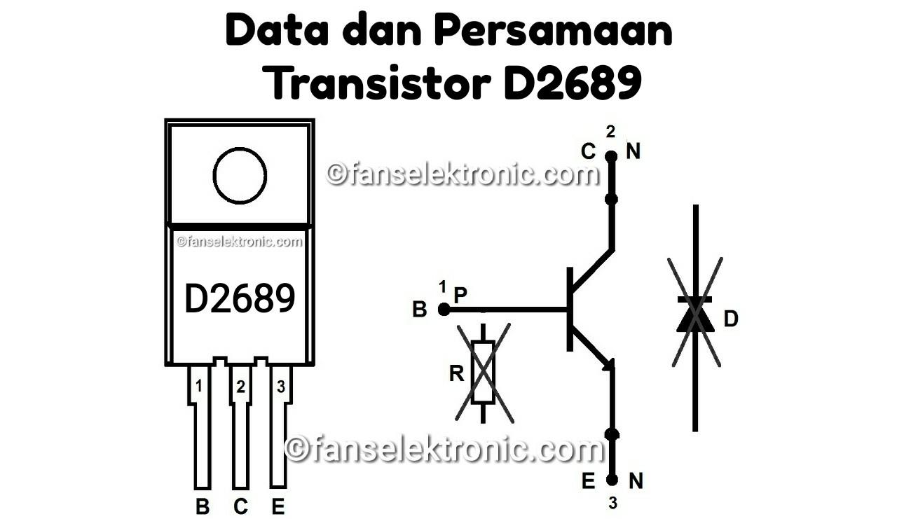 Persamaan Transistor D2689