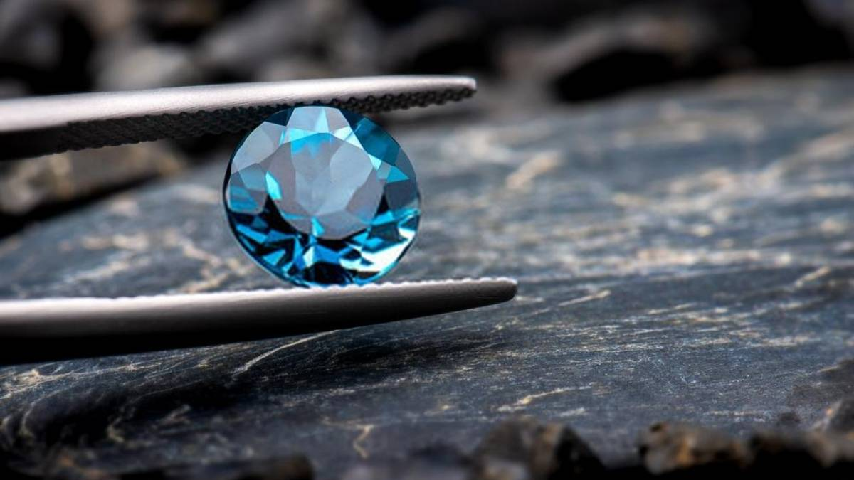 Aries Birthstone Blue