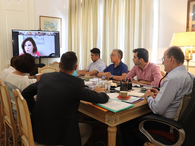 Περιφέρεια Πελοποννήσου: Τηλεδιάσκεψη για το θέμα της ΣΔΙΤ απορριμμάτων