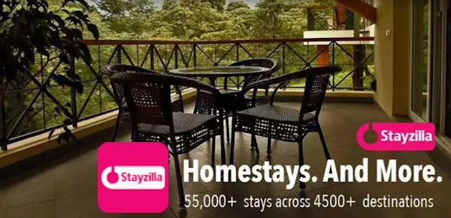 Stayzilla App Loot – Book Free Hotels, Resorts, etc