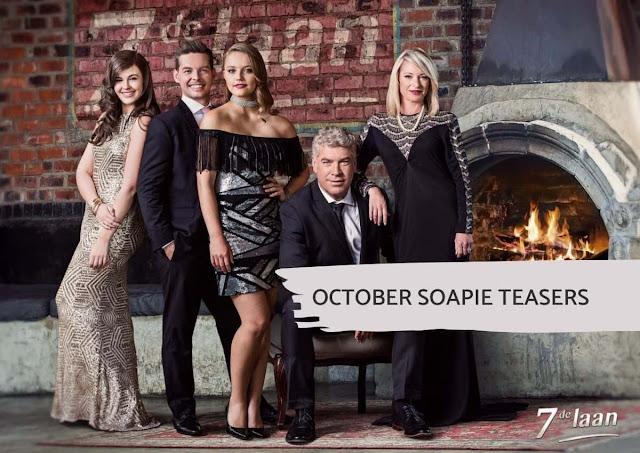 7de Laan Teasers - October