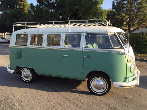 1964 Vw Bus Deluxe 13 Window Vw Bus Wagon