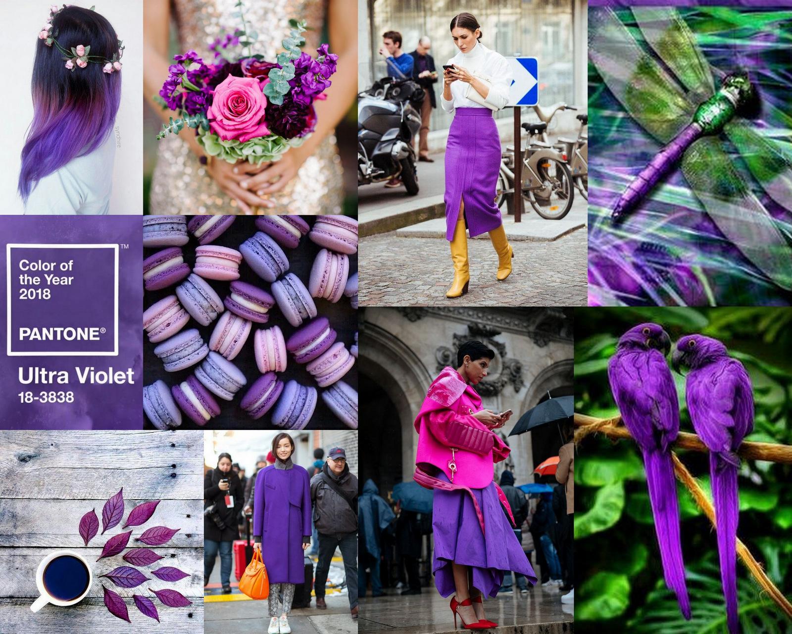 farba roku 2018: s čím ju kombinovať a aký je jej význam // color of the year 2018: ultra violet