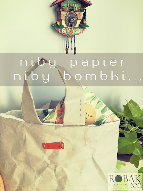 niby papier, niby bombki - małe prezenty na Święta