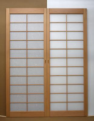 Custom Shoji pocket doors