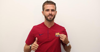Panic speaks in Barcelona shirt for the first time, vow to help win titles this season.