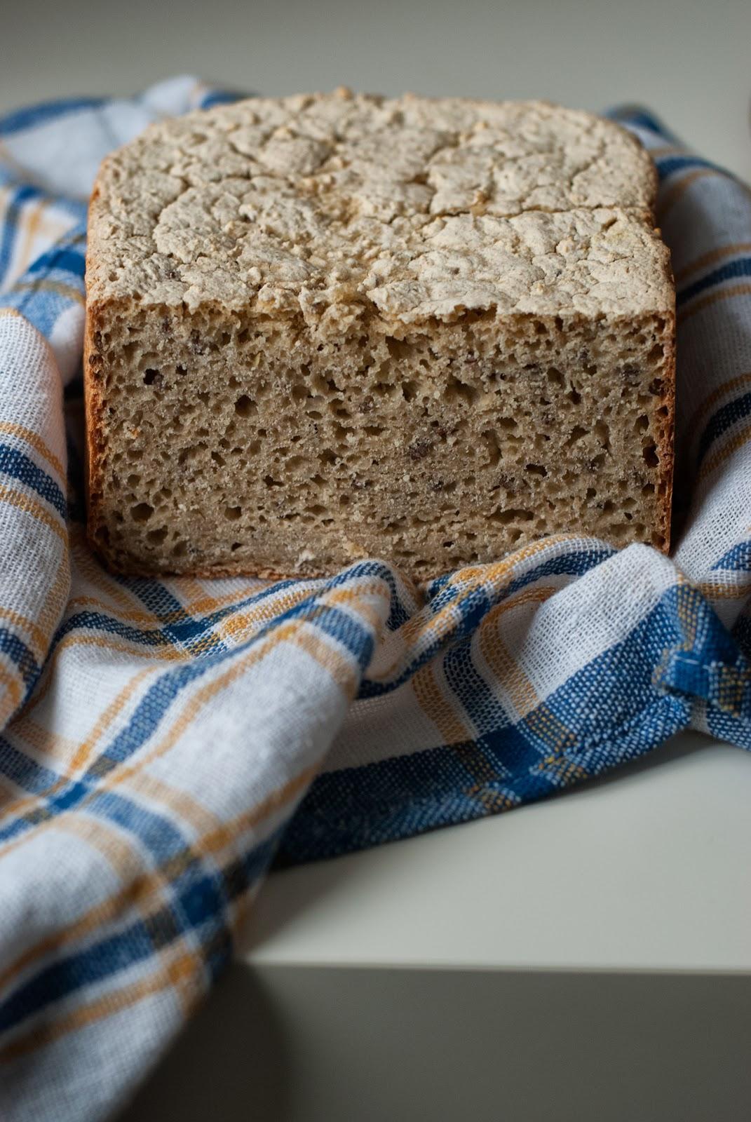 Łatwy chleb bezglutenowy na drożdżach