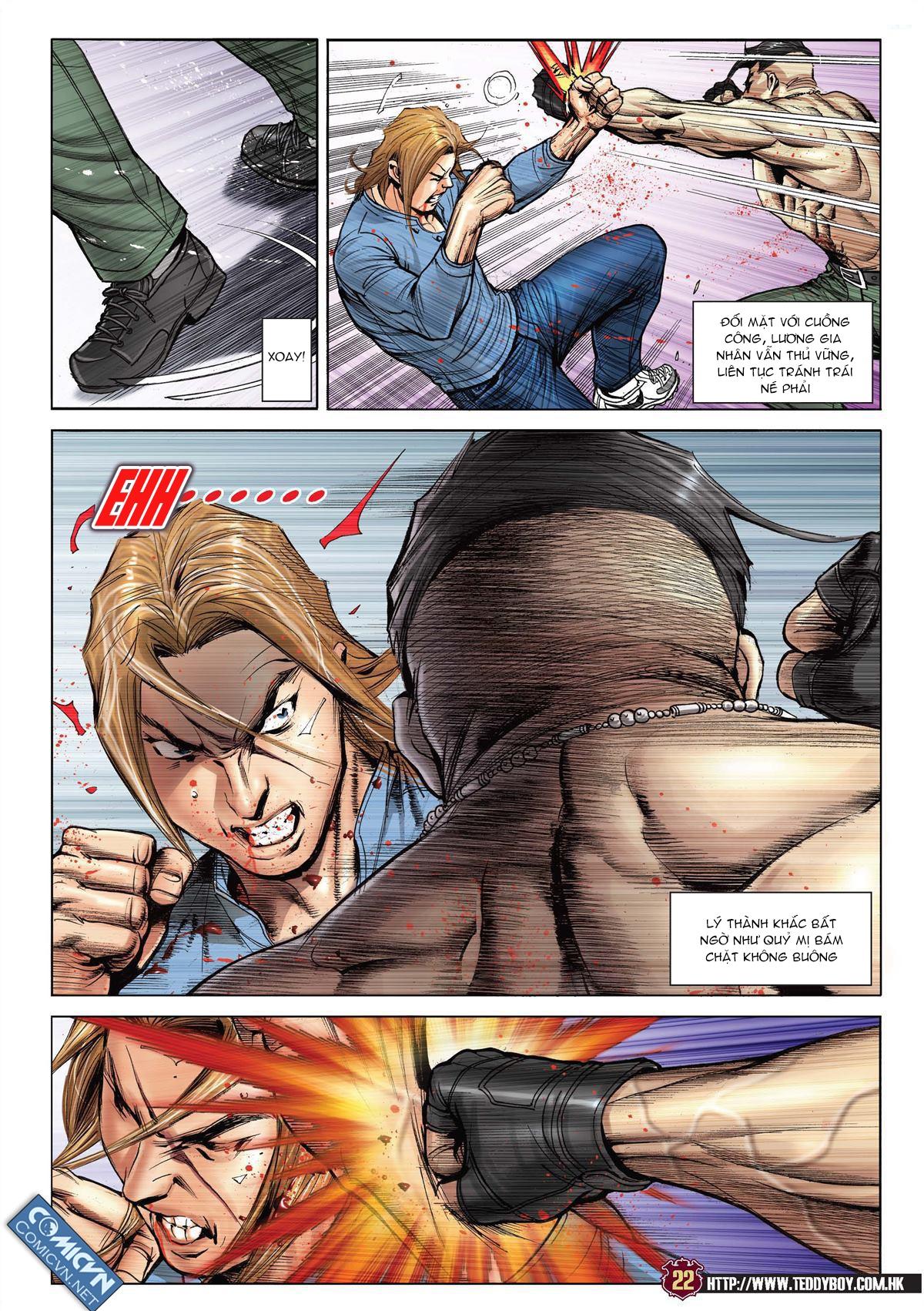 Người Trong Giang Hồ chapter 2137: tiền lộ nan hành trang 19