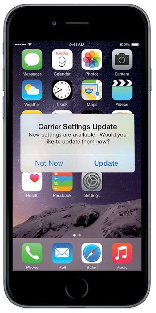 Cara Update Pengaturan Carrier iPhone Kamu