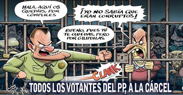 LOS ESCANDALOS DEL PP, CADA VEZ  MAS INTERMINABLES Y  MAS GORDOS: ¿HASTA CUANDO, Sr. RAJOY?.