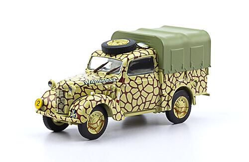 AUSTIN 10HP LIGHT UTILITY 1:43, voitures militaires de la seconde guerre mondiale