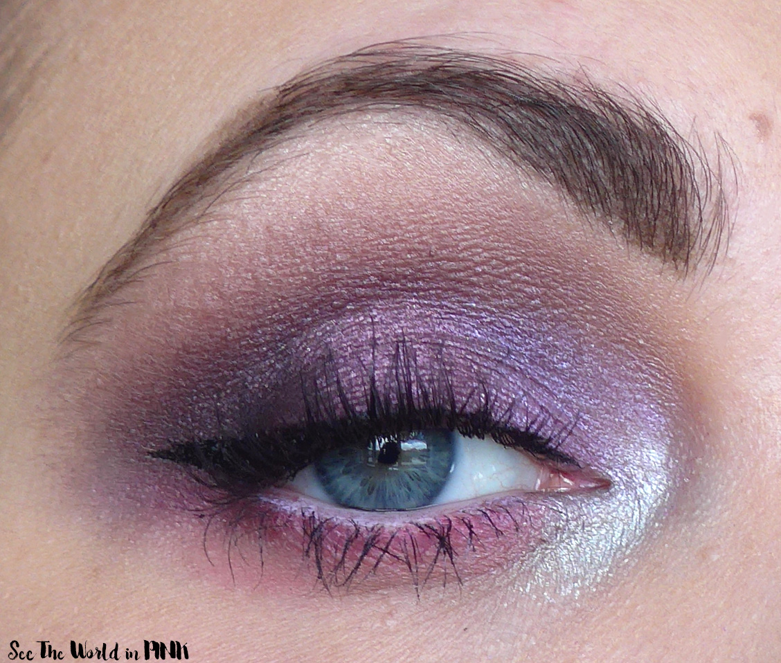 June Shop My Stash - Purple Shimmery Look and Duping The Vibes of the Urban Decay Naked Ultraviolet Eyeshadow Palette