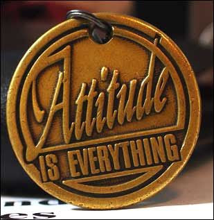 attitude-is-everything-whatsapp-dp-mark