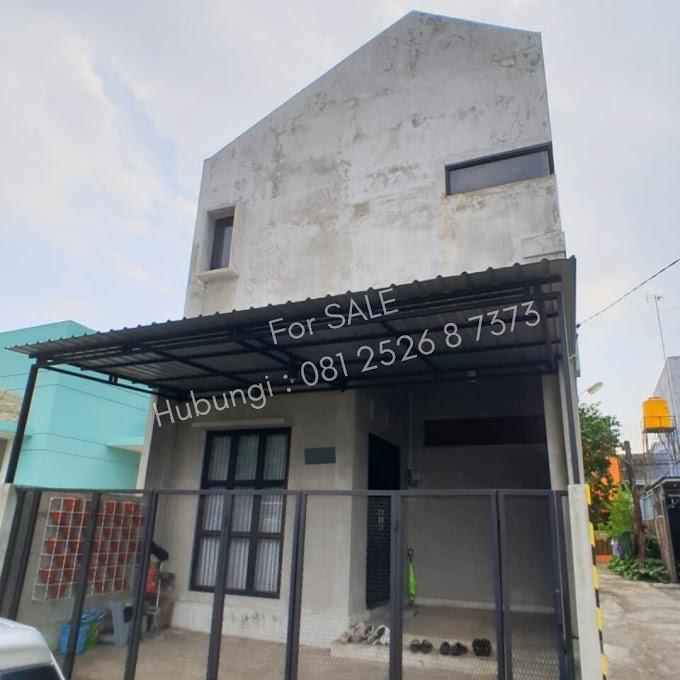 Dijual, Rumah Desain Industrialis Unik 500 Juta di Sebuku, Sulfat, Malang