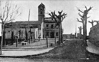La ermita con el edificio adosado (1928)